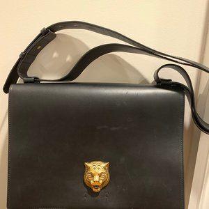 Gucci Animalier leather messenger bag